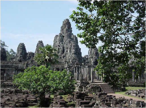 File source: http://commons.wikimedia.org/wiki/File:Bayon-temple.JPG